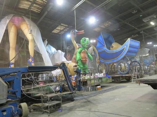 Carnavaliers al lavoro, lo scorso anno
