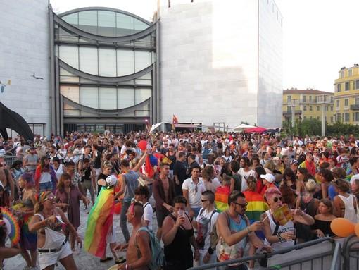 Manifestazioni arcobaleno degli scorsi anni a Nizza