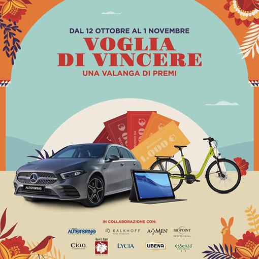 """Ottima partenza a Mondovicino Shopping Center con il concorso """"VOGLIA DI VINCERE"""""""