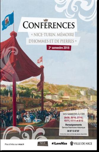 """Nice-Turin, """"Mémoires d'homme et de pierre"""", seconda conferenza alla Maison des Associations di Nizza"""