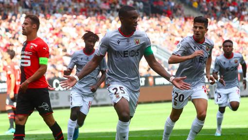 Rennes . OGC Nice, l'incontro di andata (foto tratta dal sito dell'OGC Nice)