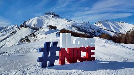 Aprono le piste da sci della Métropole Nice Côte d'Azur