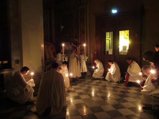 Via Crucis nella Cattedrale di Santa Reparata (foto di archivio)