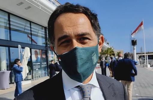 """L'Ambasciatore Giulio Alaimo ospite per il varo di Monaco One """"Una cosa bella e importante"""""""