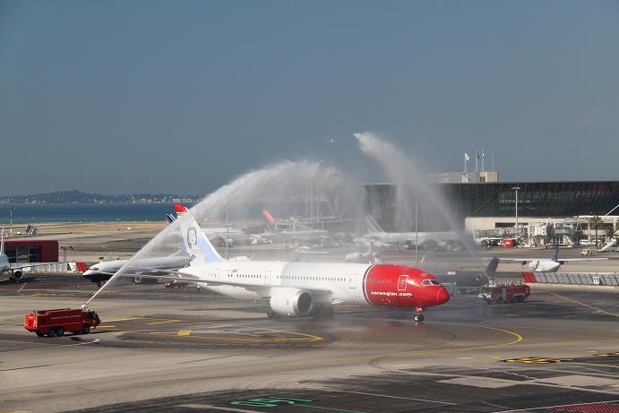Aeroporto Nizza : All aeroporto di nizza è arrivato il dreamliner futoro