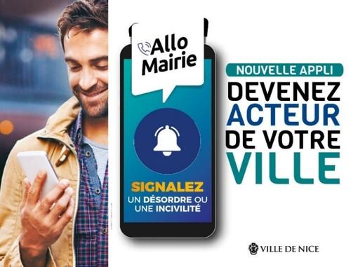 """Nuovi servizi per chi vive a Nizza, grazie all'applicazione """"Allo Mairie"""""""
