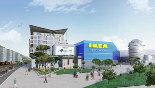 La futura Ikea a Nizza