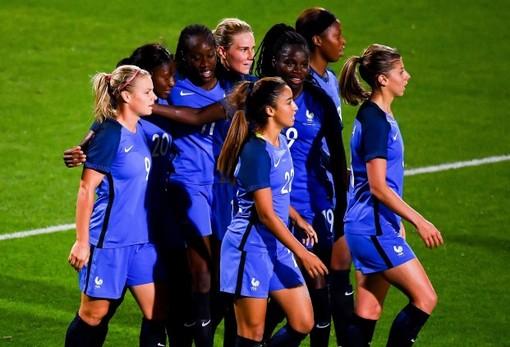 La nazionale francese di calcio femminile