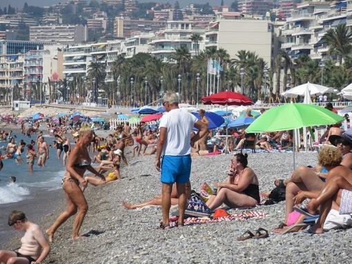 Una spiaggia di Nizza