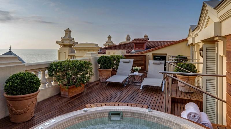 Nuova collezione di suite jacuzzi firmata h tel hermitage for Soggiorno a montecarlo