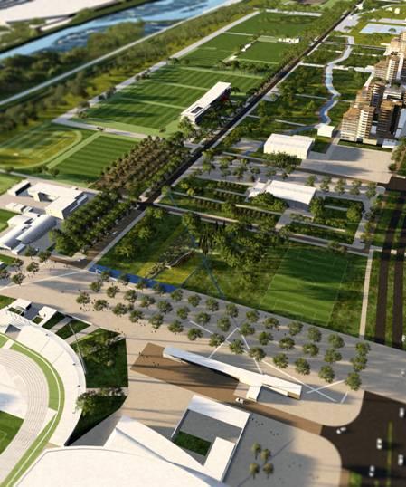 nizza estrosi annuncia in anteprima la realizzazione di un nuovo grande parco verde. Black Bedroom Furniture Sets. Home Design Ideas
