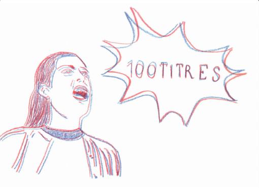 """100 Titres"": una mostra al buio"