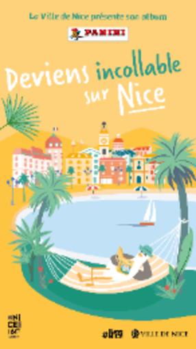 Due album di figurine per conoscere Nizza