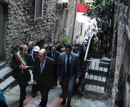 Le più belle foto della visita di S.A.S. il Principe Alberto di Monaco a Dolceacqua