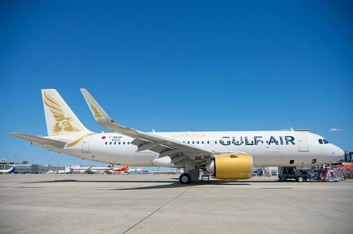 Un A320 neo dell'Air Gulf