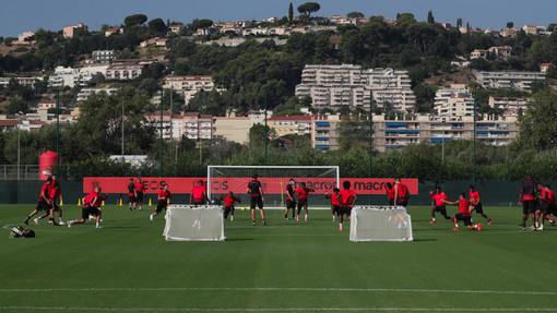 Seduta di allenamento del Nizza (foto tratta dal sito dell'OGC Nice)