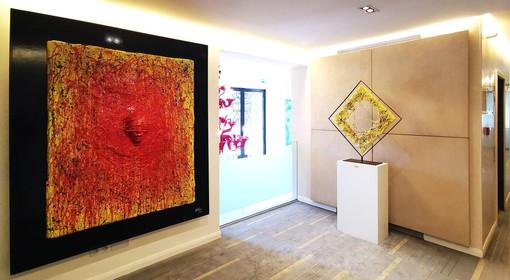 La Barclays Bank di Monte Carlo sceglie l'artista italiano Cesare Catania per la sua nuova esposizione d'arte nella sede del Principato di Monaco