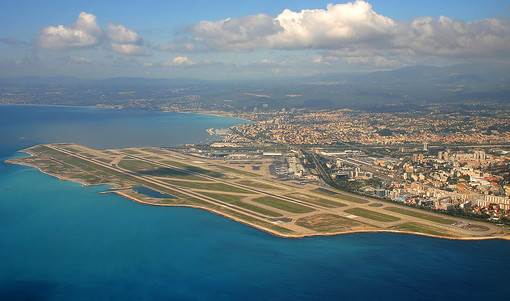 L'aeroporto di Nizza e Les Saintes Marie de la Mer rischiano di essere inghiottiti dal mare!