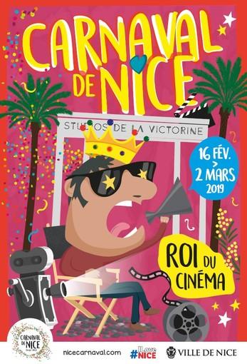 Ecco il poster del Carnevale di Nizza del 2019