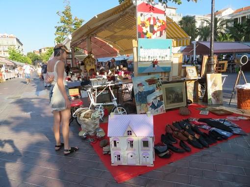Brocante in Cours Saleya