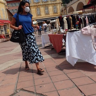 Brocante a Nizza, foto di Ghjuvan Pasquale
