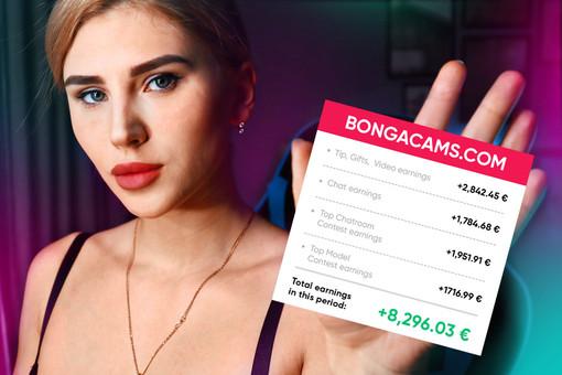 Quanto prendono sulla webcam: una ragazza di Milano condivide cifre reali delle sue entrate su Bongacams