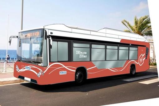 Il bus elettrico che percorrerà la Promenade