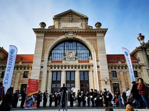 Musique des Sapeurs-Pompiers alla Gare du Sud