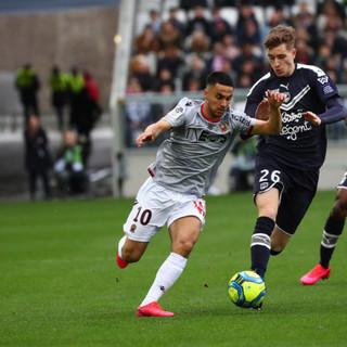 Bordeaux - Nizza, ventisettesima giornata (foto tratta dal sito dell'OGC Nice)