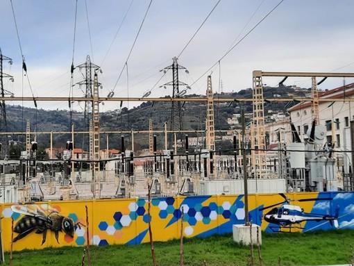La centrale elettrica di Nice Lingostière , foto di Danilo Radaelli