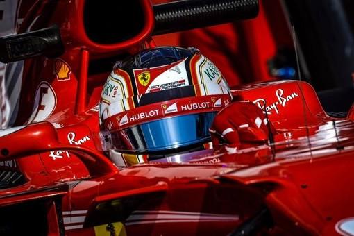 Charles Leclerc impegnato in un test con la Ferrari nel 2017. L'anno prossimo il monegasco sarà pilota ufficiale della rossa