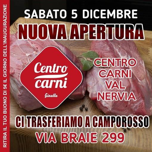 Ginatta apre un Nuovo Centro Carni a Camporosso. Sabato 5 dicembre l'inaugurazione