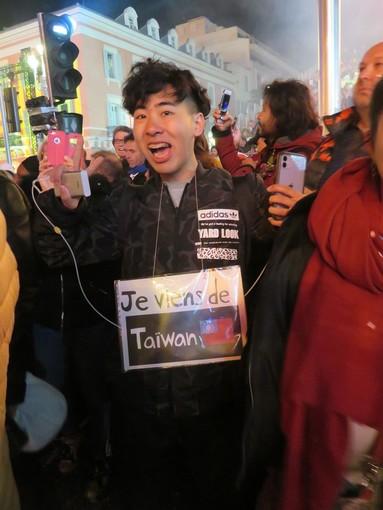 Cinese di Taiwan al Carnevale di Nizza