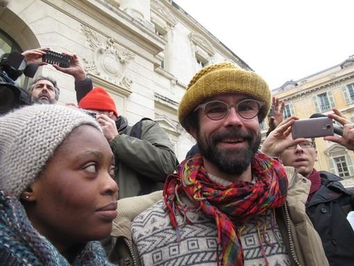 Cedric Herrou davanti al Tribunale di Nizza