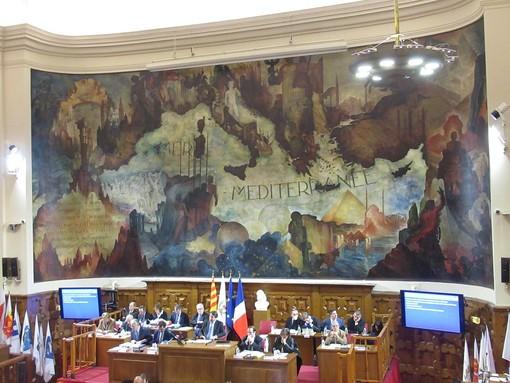 Riunione del Consiglio della Métropole Nice Côte d'Azur
