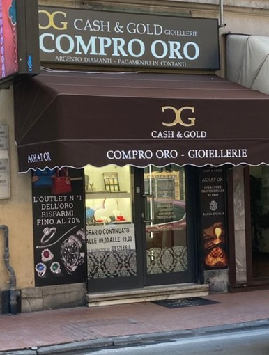 A Ventimiglia ha aperto il Compro Oro CASH & GOLD!