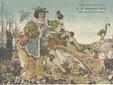 Carnaval de Nice - SM XLIV. Const. Sidro Alexis, carte postale colorisée, Baylone frères (Nice), 1922. Archives Nice Côte d'Azur – Ville de Nice, 10 Fi 952