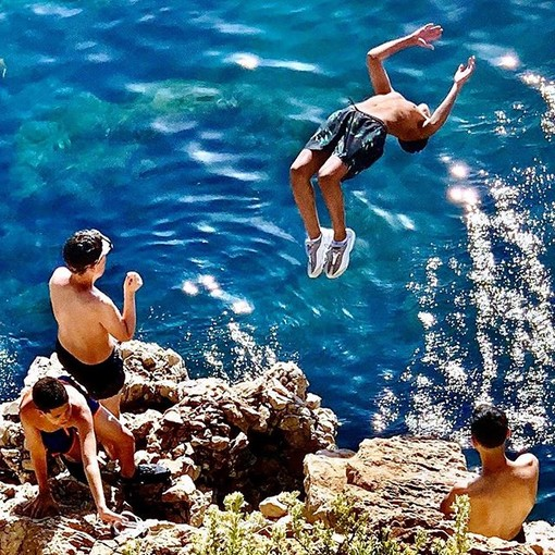 Coco Beach, immagini postate sulle reti sociali
