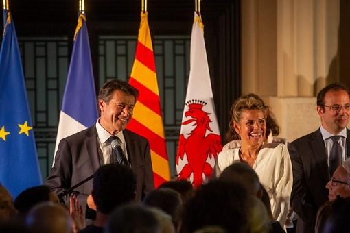 Il primo discorso di Christian Estrosi dopo il turno di ballottaggio il 28 giugno 2020