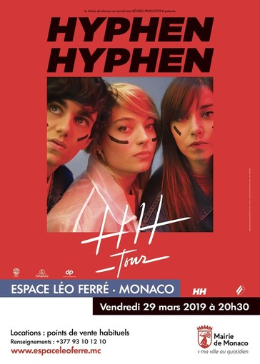 Gli Hyphen Hyphen in concerto allo Spazio Léo Ferré di Monaco venerdì 29 marzo