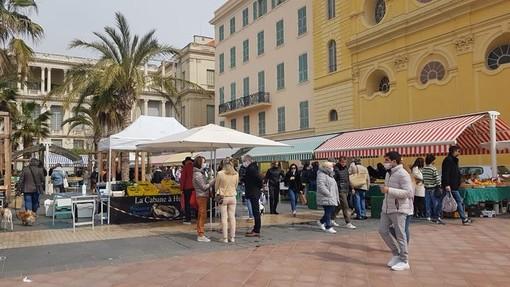 Il mercato di Cours saleya, fotografia di Ghjuvan Pasquale