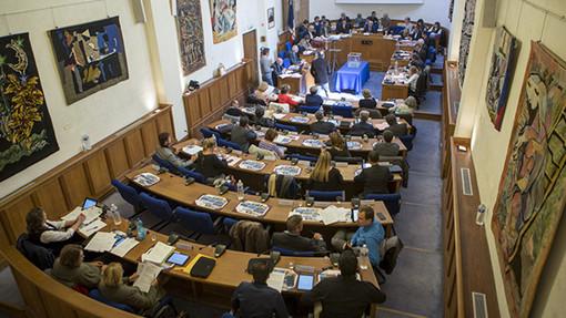 Sala del Consiglio Municipale di Antibes