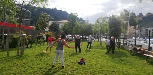 Senior in azione a Nizza, foto di Patrizia Gallo