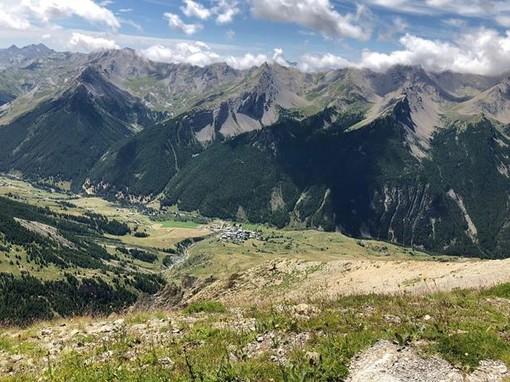 Al di là del Col de Larche, fotografie di Guglielmo Talarico