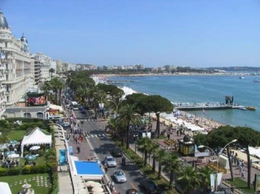 """""""Cannes, il nostro confine del mondo"""" L'esotismo di Cannes si manifesta in grande stile al Palais des Festivals et des Congrès in tutta la Francia!"""