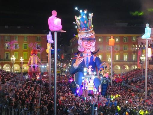 Immagini dal Carnevale di Nizza del 2020