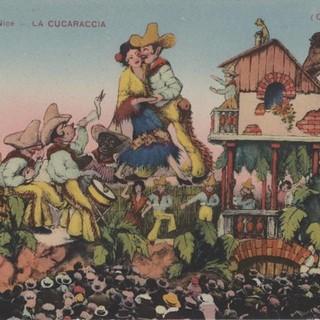 Le carte postali del carnevale di Nizza, fonte Archives Nice Côtes d'Azur