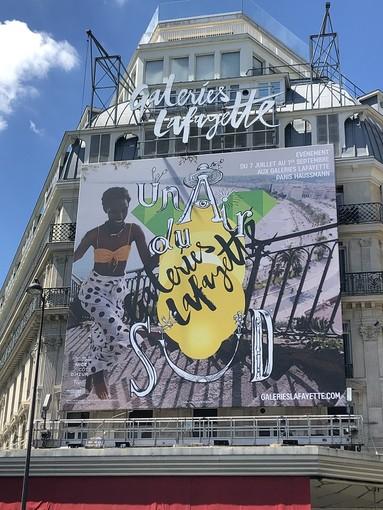 Galeries Lafayette di Parigi