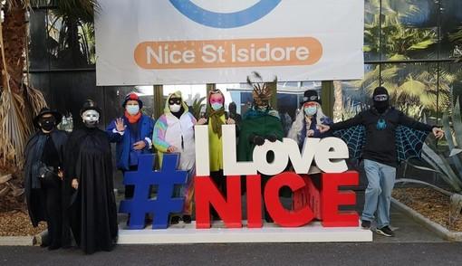 "Le ""maschere"" del Potager de la Fantasie a Nice Saint Isidore"