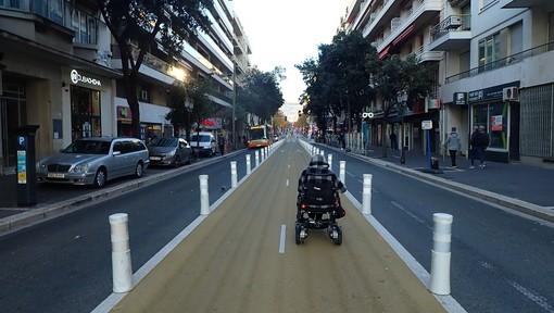 Boulevard Gambetta a Nizza, foto di Ghjuvan Pasquale
